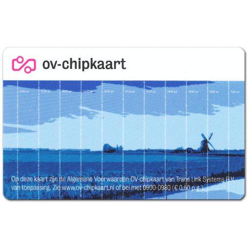 OV-chipkaart Anoniem Voorkant
