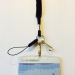 OV-chipkaart hoesje met luxe keycord en breakaway met 3 bevestigingspunten (zwart)