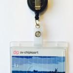OV-chipkaart hoesje met jojo (clip)