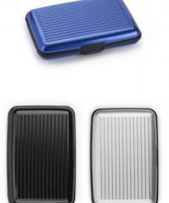 Wallet Aluminium (in 6 kleuren)
