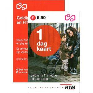 HTM Dagkaart 1-dag Beide Zijden