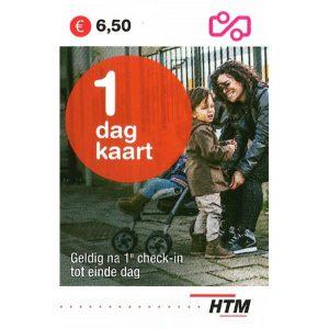 HTM Dagkaart 1-dag Voorkant