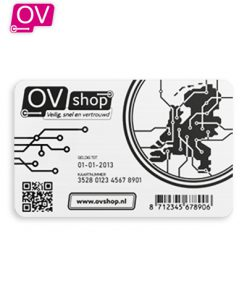 Achterkant Anonieme OV-Chipkaart