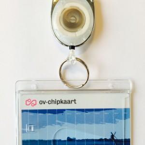 OV-chipkaart hoesje met jojo (haak)