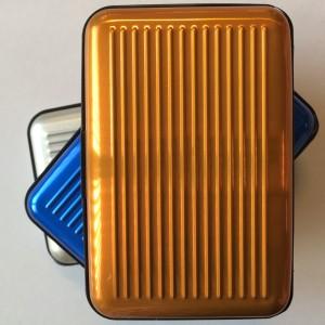 Wallet aluminium (goud)