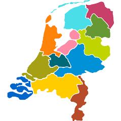 Nederland Provincies