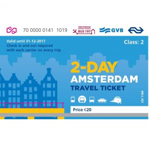 Amsterdam Travel Ticket 2 day