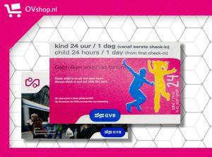 GVB 24 Uur Kind Dagkaart