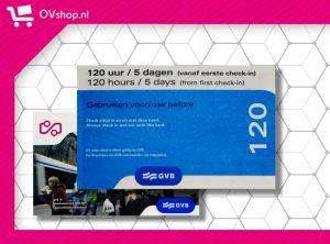GVB 120 Uur Dagkaart
