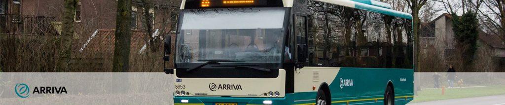 Arriva - Trein- en busvervoer in o.a. Noord-Brabant, Friesland en Overijssel