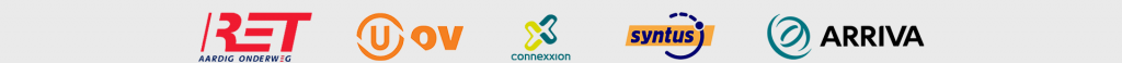 RET, U-OV, Connexxion, Syntus, Arriva