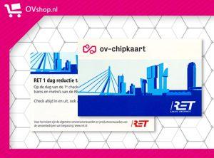 RET 1 Dag Reductie Tarief Ticket