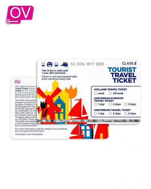 Tourist Travel Ticket