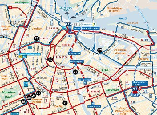 Amsterdam Region Travel Ticket 1 2 Or 3 Day Ovshop Nl