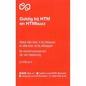 HTM 2-Uurskaart