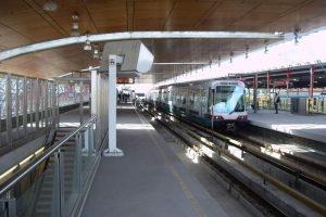 Opebaar Vervoer station in Rotterdam