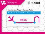 Amsterdam Aiport Express Ticket