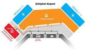 Schiphol kaart