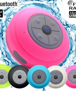 Waterdichte Bluetooth Speaker Roze
