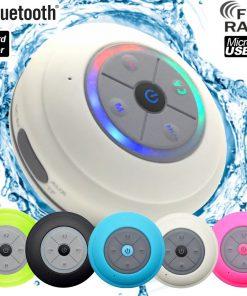 Waterdichte Bluetooth Speaker Wit