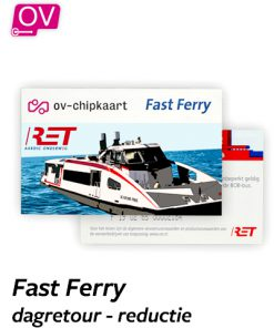 RET Fast Ferry dagretour reductie