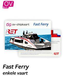RET Fast Ferry enkele vaart