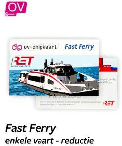 RET Fast Ferry reductie