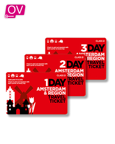 Amsterdam&Region Travel Ticket