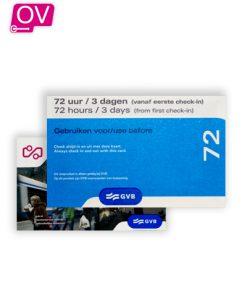 GVB 72 Uur Dagkaart