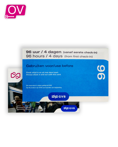 GVB 96 Uur Dagkaart