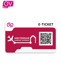 Amsterdam Aiport Express e-Ticket