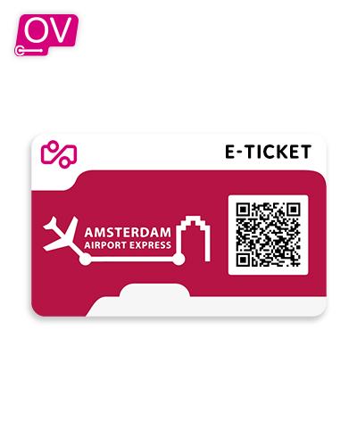 Amsterdam Aiport Express e-Ticket