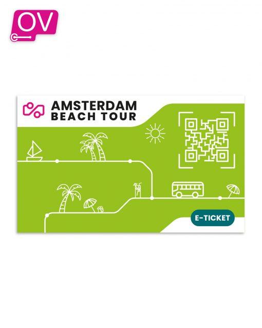 Amsterdam Zandvoort Bus e-Ticket